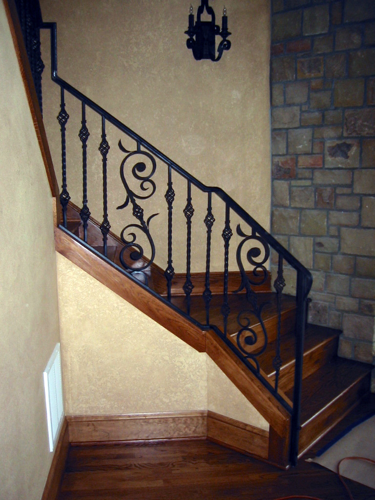 Blue Mountain Metalworks Interior Railings Custom Metal Work Ornamental Banner Elk Nc Architectural Western North